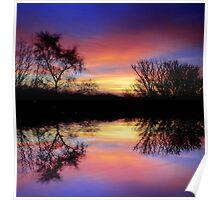 Rainbow Reflection Poster