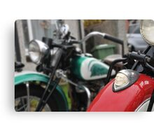 indian motorcycles chief and 741 Canvas Print
