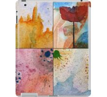 WATERCOLOUR MONTAGE  iPad Case/Skin