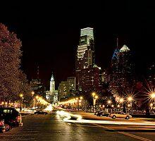Night in Philadelphia by Gouzelka