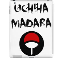 Uchiha Madara iPad Case/Skin