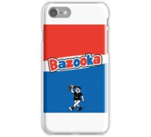 Bazooka bubble chewing gum iPhone Case/Skin