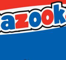 Bazooka bubble chewing gum Sticker