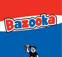 Bazooka bubble chewing gum by SofiaYoushi