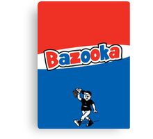 Bazooka bubble chewing gum Canvas Print