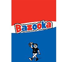 Bazooka bubble chewing gum Photographic Print