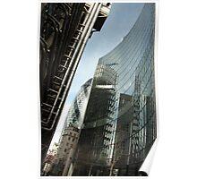 Lloyds & Gherkin  Poster