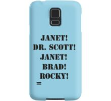 Great Scott! (black) Samsung Galaxy Case/Skin