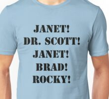 Great Scott! (black) Unisex T-Shirt