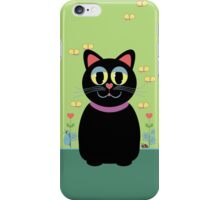 Cat, Butterflies, Lady Bug and a Snail iPhone Case/Skin