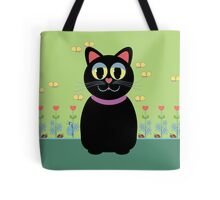 Cat, Butterflies, Lady Bug and a Snail Tote Bag