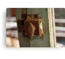 Window latch  Canvas Print