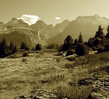 The Frontier (panoramic) by Gillou