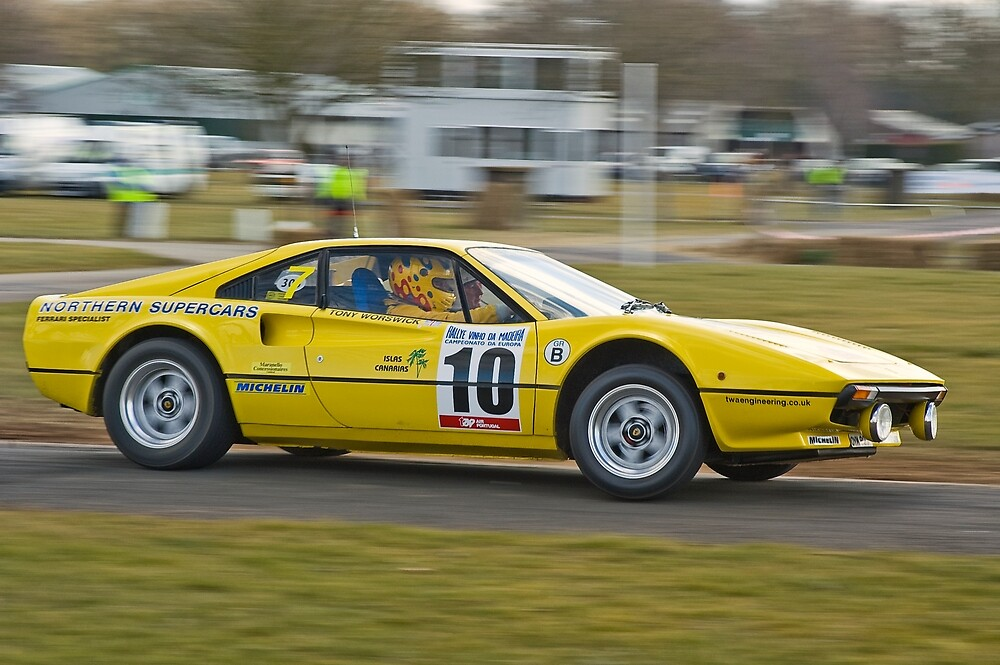 Ferrari 308GTB by Willie Jackson