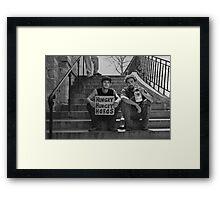 The Grind Framed Print