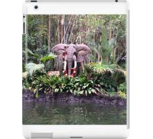 Jungle cruise elephants  iPad Case/Skin
