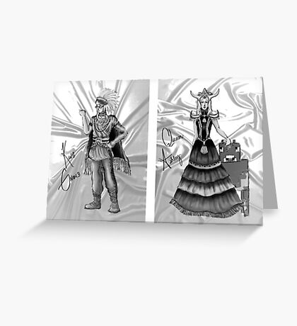 XBox Royalty Greeting Card