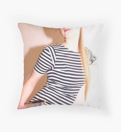 Saturday Shower Throw Pillow