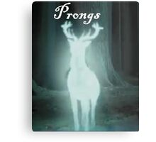 Prongs Harry Potter Metal Print
