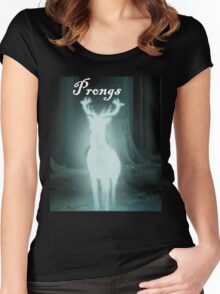 Prongs Harry Potter Women's Fitted Scoop T-Shirt