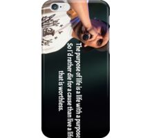 Purpose Of Life (Vertical) iPhone Case/Skin