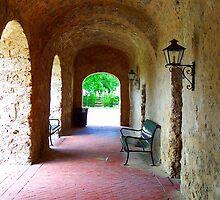 Mission Concepcion Convento  by Brian Gaynor