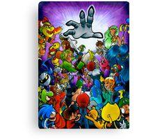 Super Smash Bros VS Master Hand Canvas Print