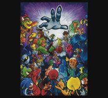 Super Smash Bros VS Master Hand T-Shirt