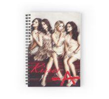 Pll Kisses -A Spiral Notebook Spiral Notebook