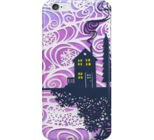 Tiny House Winter Dawn iPhone Case/Skin