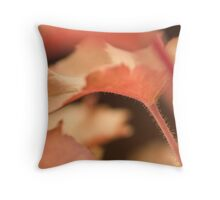 Heuchera Marmalade  Throw Pillow