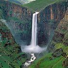 The Maletsunyane Falls,Lesotho,Africa by leksele
