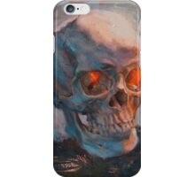 Skull Oil Painting iPhone Case/Skin