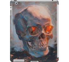Skull Oil Painting iPad Case/Skin
