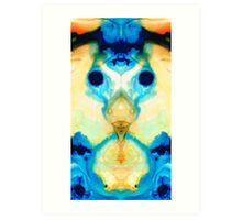 The Wise Ones - Visionary Art By Sharon Cummings Art Print