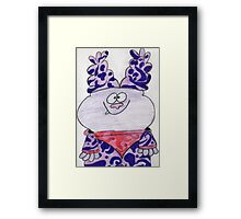 Chowder Drawing Framed Print