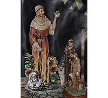 My Love for St. Francis Photographic Print