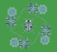 LadyBug Clovers - Emeraude One Piece - Short Sleeve