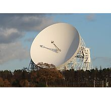 Jodrell Bank radio telescope Photographic Print
