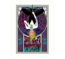 Spidergwen Art Nouveau Art Print