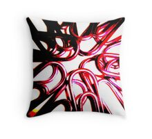 The Office Abstract #2 Throw Pillow