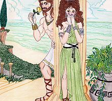 Ancient Greece Lovers by E-Ocasio