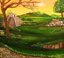 'Valley of the Sun Temple' by Susie Hawkins