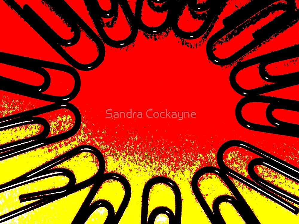 The Office Abstract ##### by Sandra Cockayne