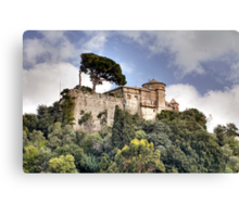 Castello Brown - Portofino Canvas Print