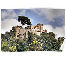 Castello Brown - Portofino Poster