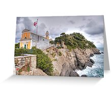 Church of San Giorgio - Portofino Greeting Card
