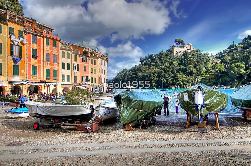The Marina - Portofino by paolo1955