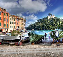 The Marina - Portofino by paolo1955