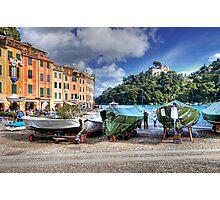 The Marina - Portofino Photographic Print